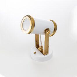 Точковий світильник білого кольору