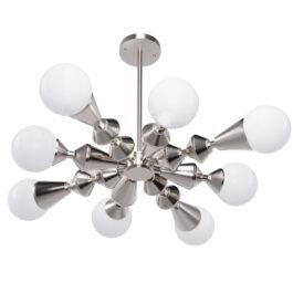 Люстра Stella dome V8 нікель