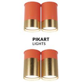 Точковий спот BP двійний Coral Gold арт. 6349