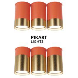 Точковий спот BP трійний Coral Gold арт. 6353